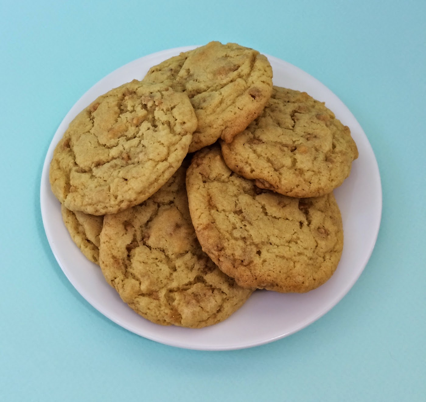 The Boozy Epicure: Bits 'O Brickle Cookies