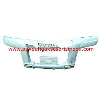 Bumper New Avanza/Xenia Bison+Lampu Putih Metalik