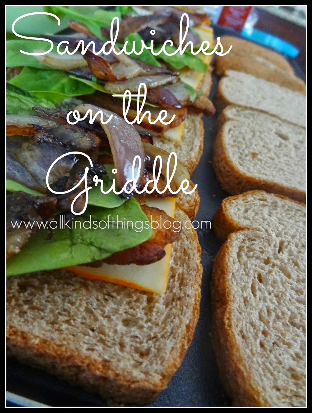 Grilled Hot Cheese Sandwiches