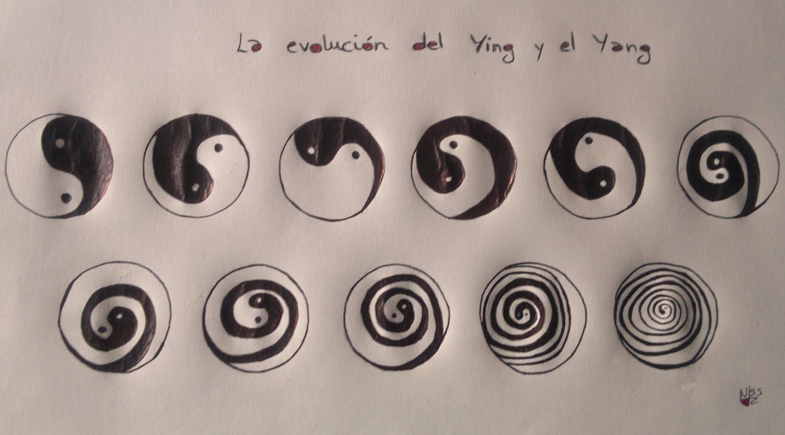 la evoluci n del ying y el yang dibujando poes a