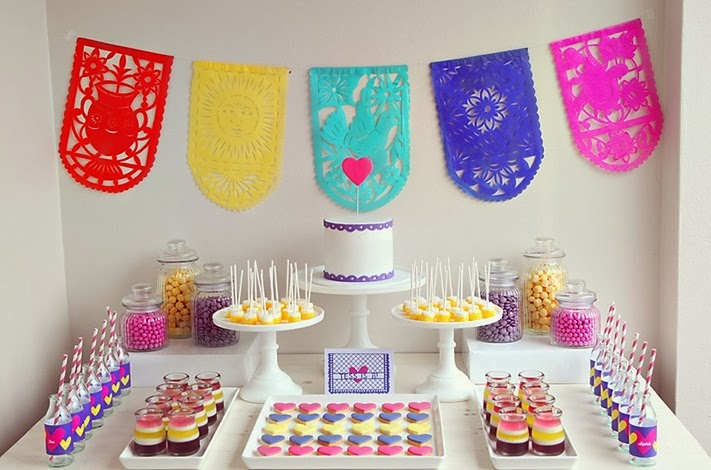 fiesta infantil detalle mesa dulce - Como Preparar Una Fiesta De Cumpleaos