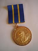 "Medalha ""Debret"" para Artistas Plasticos e Escritores"