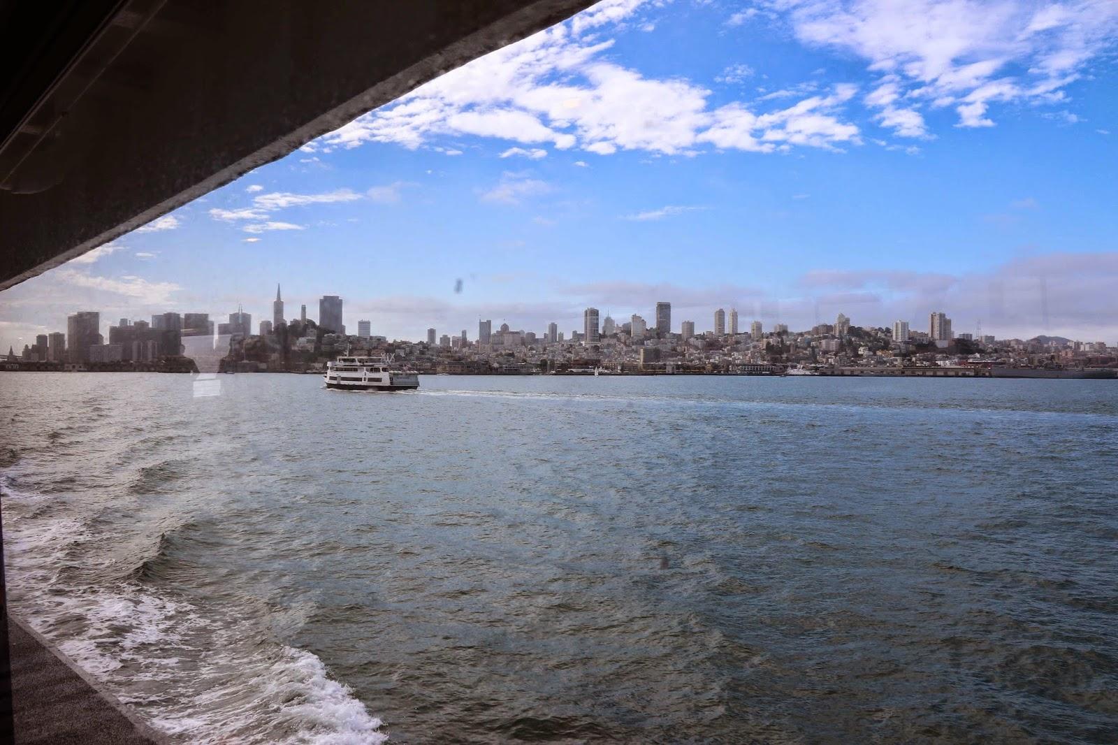 Tour Alcatraz - Boat