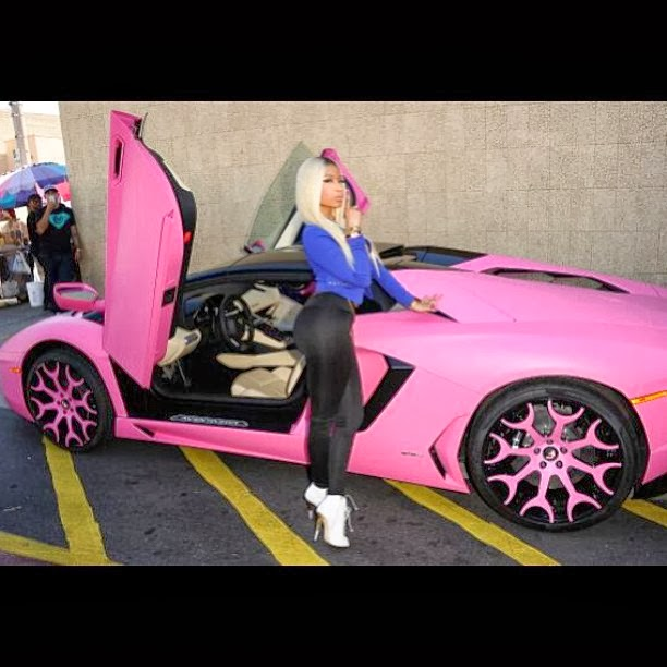 Interesting Customization Nicki Minaj S 2014 Pink