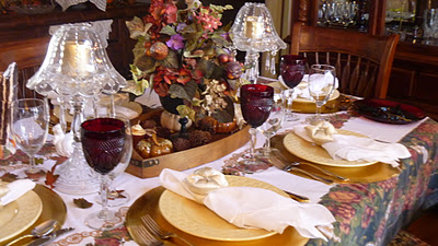 Thanksgiving Table by Living Life Southern Style