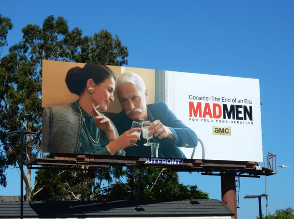 Mad Men Emmy 2015 Roger Sterling billboard