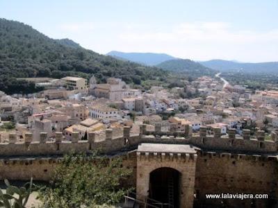 Vistas Capdepera desde Castillo