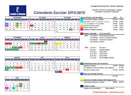 CALENDARIO 2015/2016