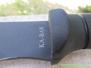 Ka-Bar Kukri Machete - Closeup Of Stamp