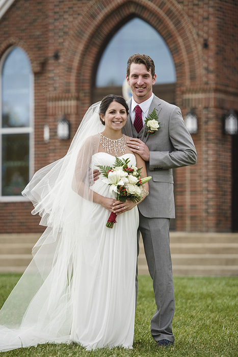 Wedding photography at Christendom College in Front Royal