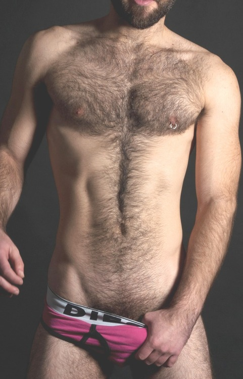 Hot men in their pants.: Colour