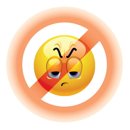 Forbidden emoticon