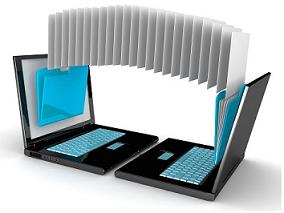 compartir archivos con cable cruzado