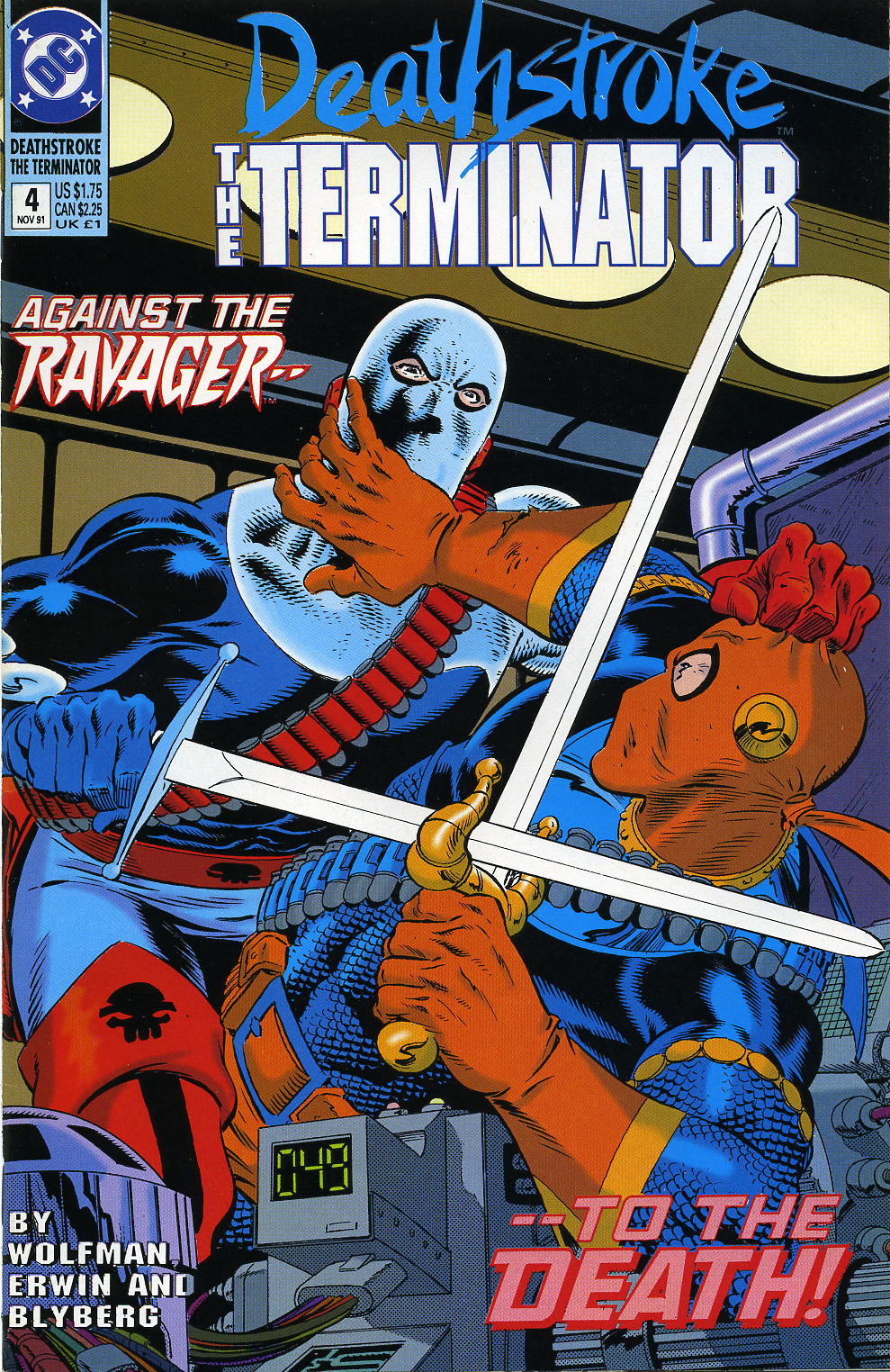 Deathstroke (1991) Issue #4 #9 - English 1