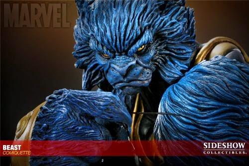 Marvel X-Men Beast Comiquette Polystone Statue