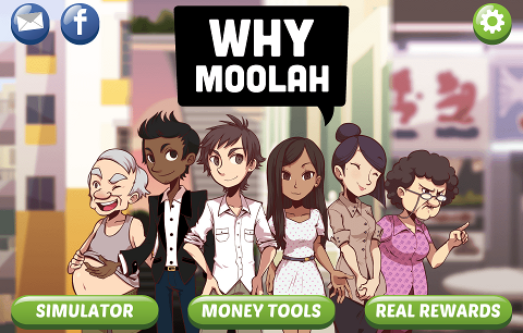 WhyMoolah sur mobile