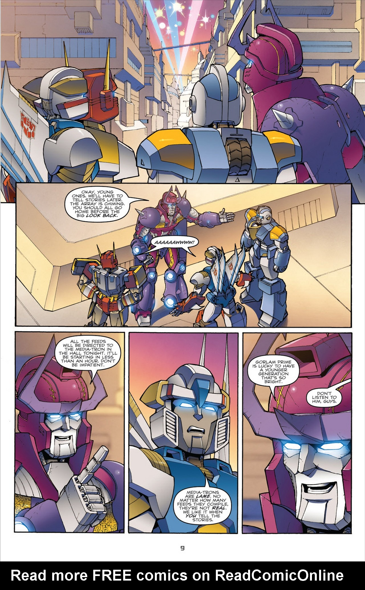 The Transformers (2009) chap 31 pic 13