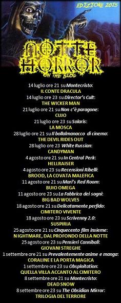 Notte Horror 2015