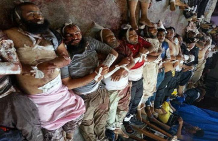 Foto foto terbaru korban tewas massa pro mursi al khilafah