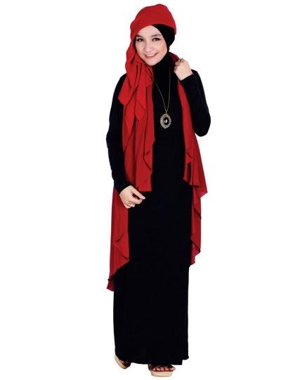 Busana Muslim Wanita Gendut 2015