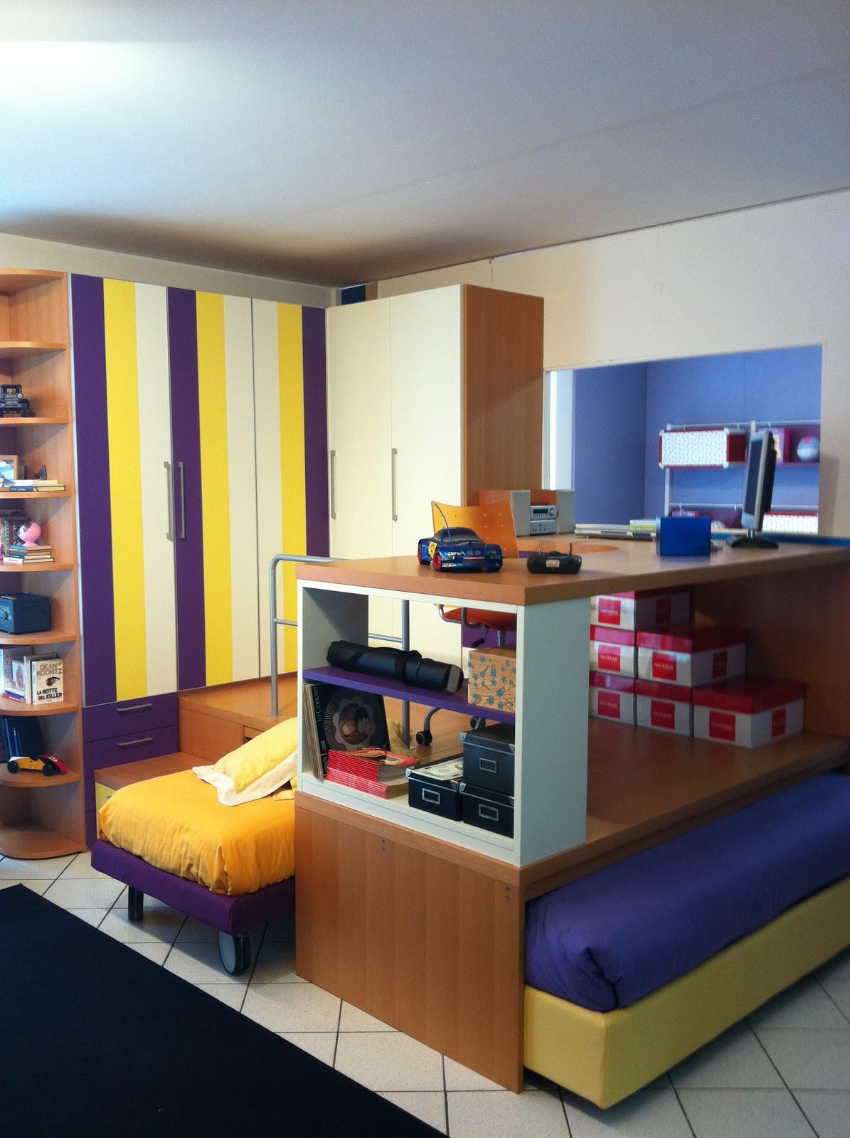 Bonetti camerette bonetti bedrooms cameretta con pedana - Camerette con pedana ...