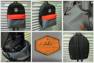 Tas Backpack Dengan Tema Bola