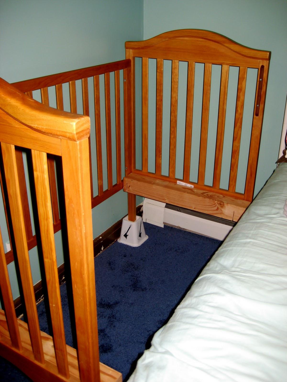 Sidecar Crib Platform Bed