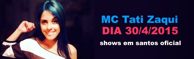 MC Tati Zaqui show em Santos - SP