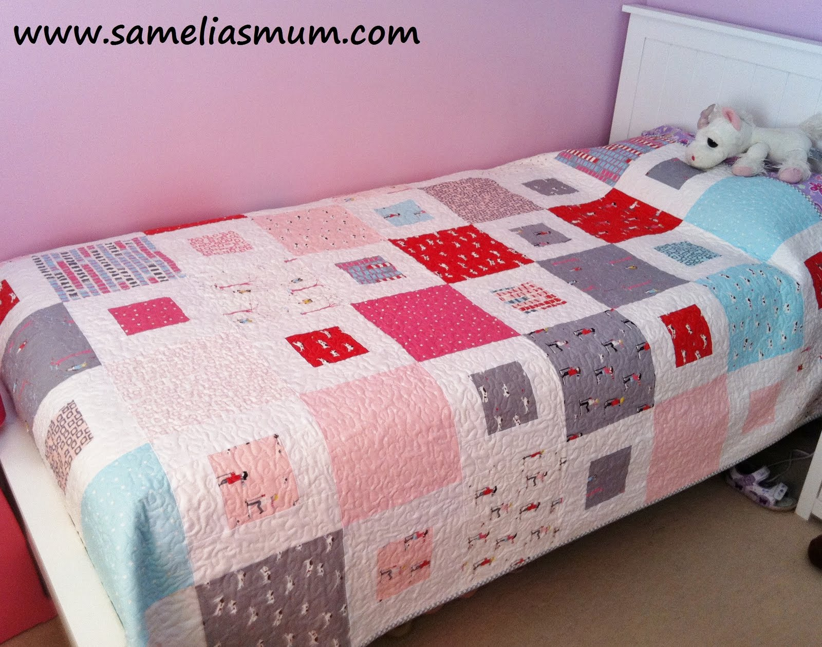 Samelia's Mum: 1 + 2 = Easy Quilt Pattern (Tutorial) : quilting patterns beginners - Adamdwight.com