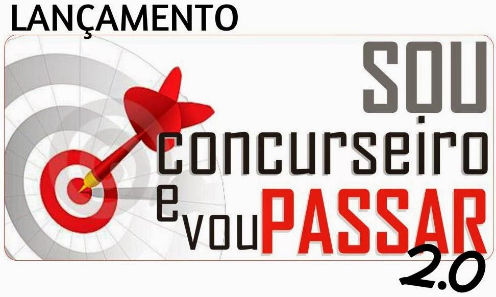 SOU CONCURSEIRO E VOU PASSAR