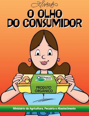 clique na imagem para baixar a cartilha do Ministério da Agricultura sobre os benefícios dos produtos orgânicos