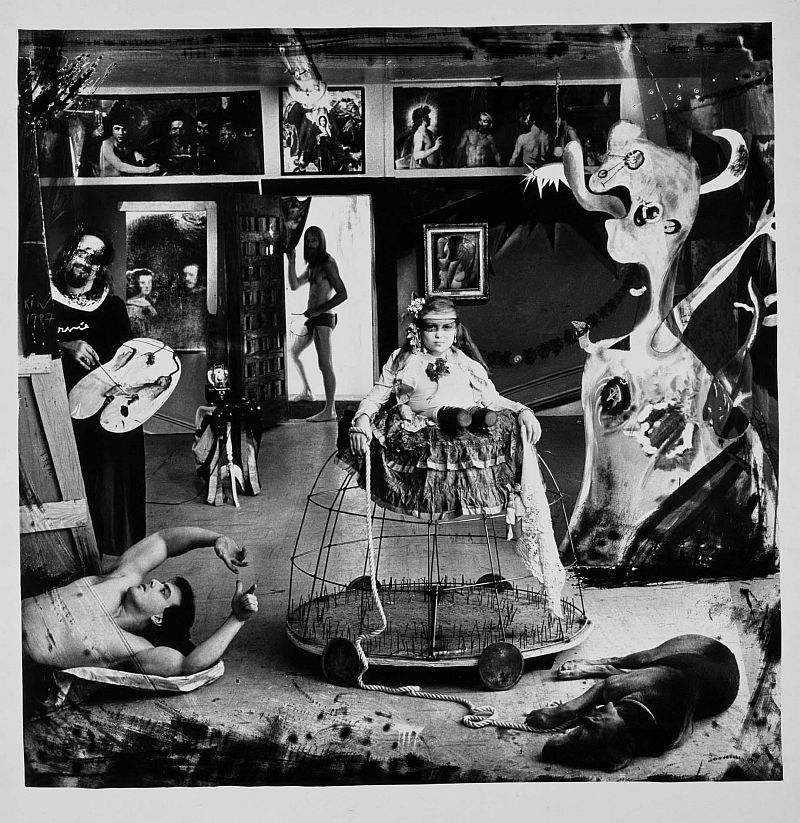 joel peter witkin contextual study Las meninas (pronounced [las meˈninas] spanish for the ladies-in-waiting) is a 1656 painting in the museo del prado in madrid, by diego velázquez, the leading artist of the spanish golden age.