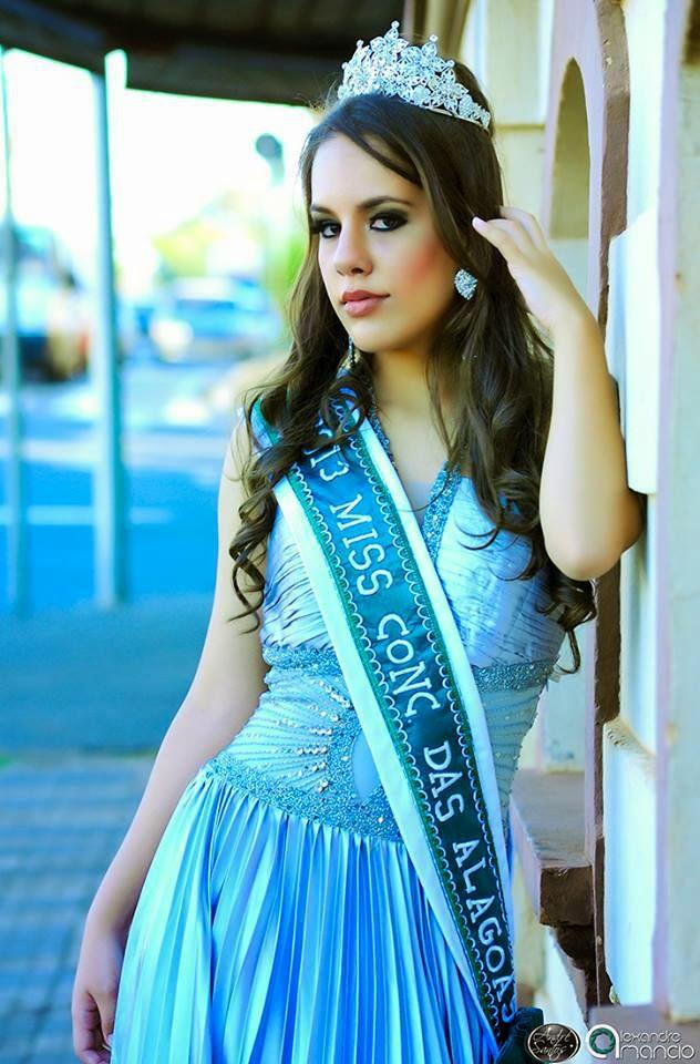 A modelo Mariana Pires representa a cidade de Conceição das Alagoas no Miss Mundo Minas Gerais 2015. Foto: Alexandre Amâncio