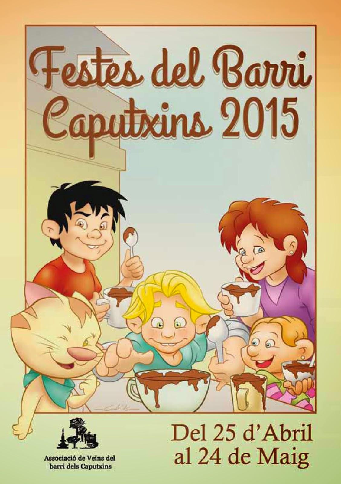 Festes del barri Caputxins 2015