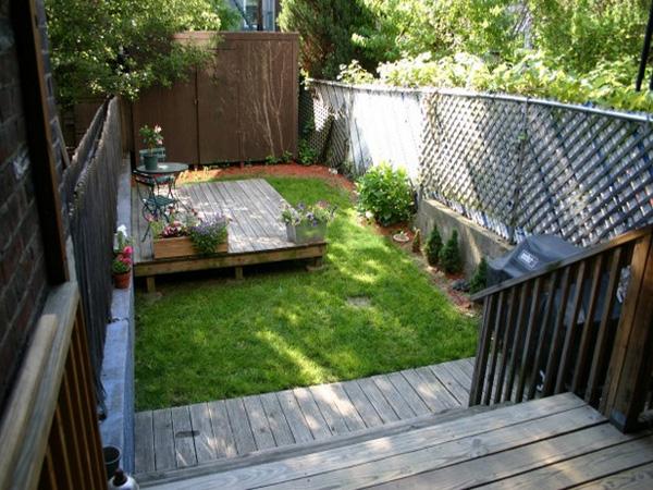 como podis ver si os asomis a ver fotografas de mi jardn el mo es uno de esos jardines muy pequeos pero muy cuando comenc a plantar with jardines pequeos