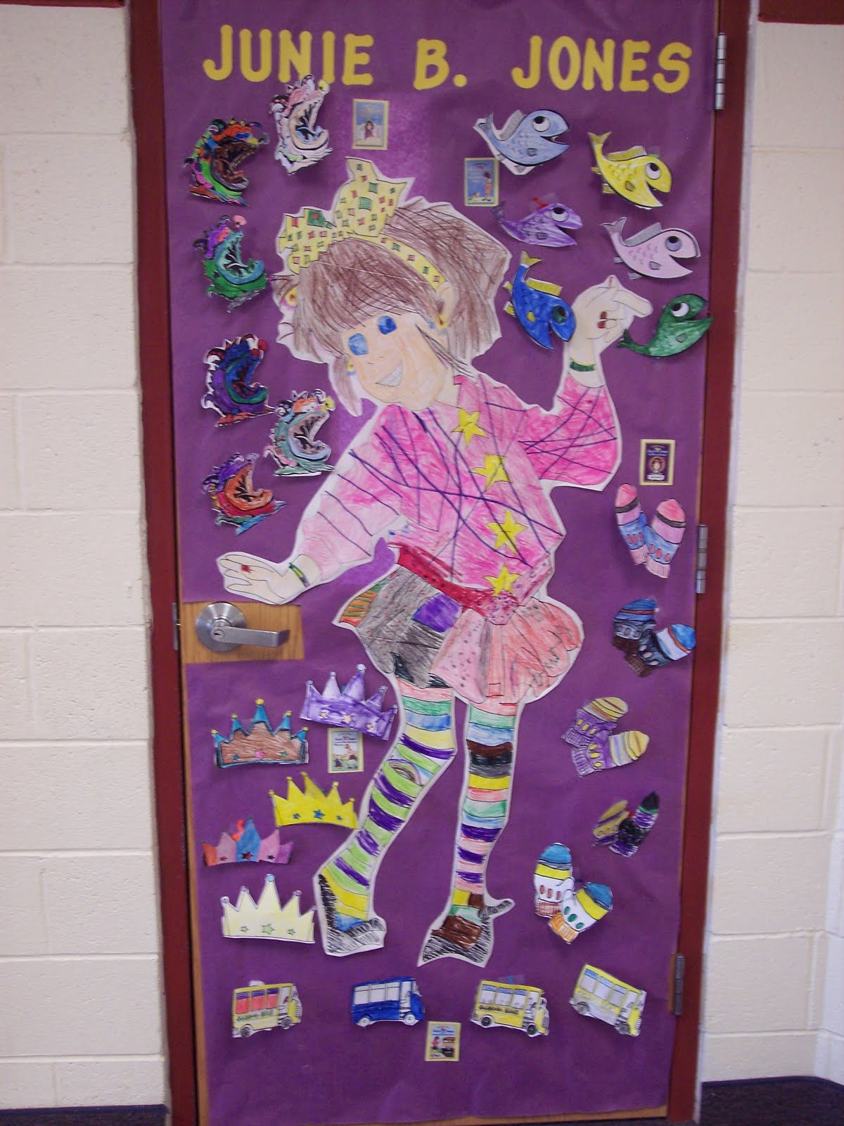 Math Classroom Door Decoration Ideas ~ Pioche st nd reading week door decoration