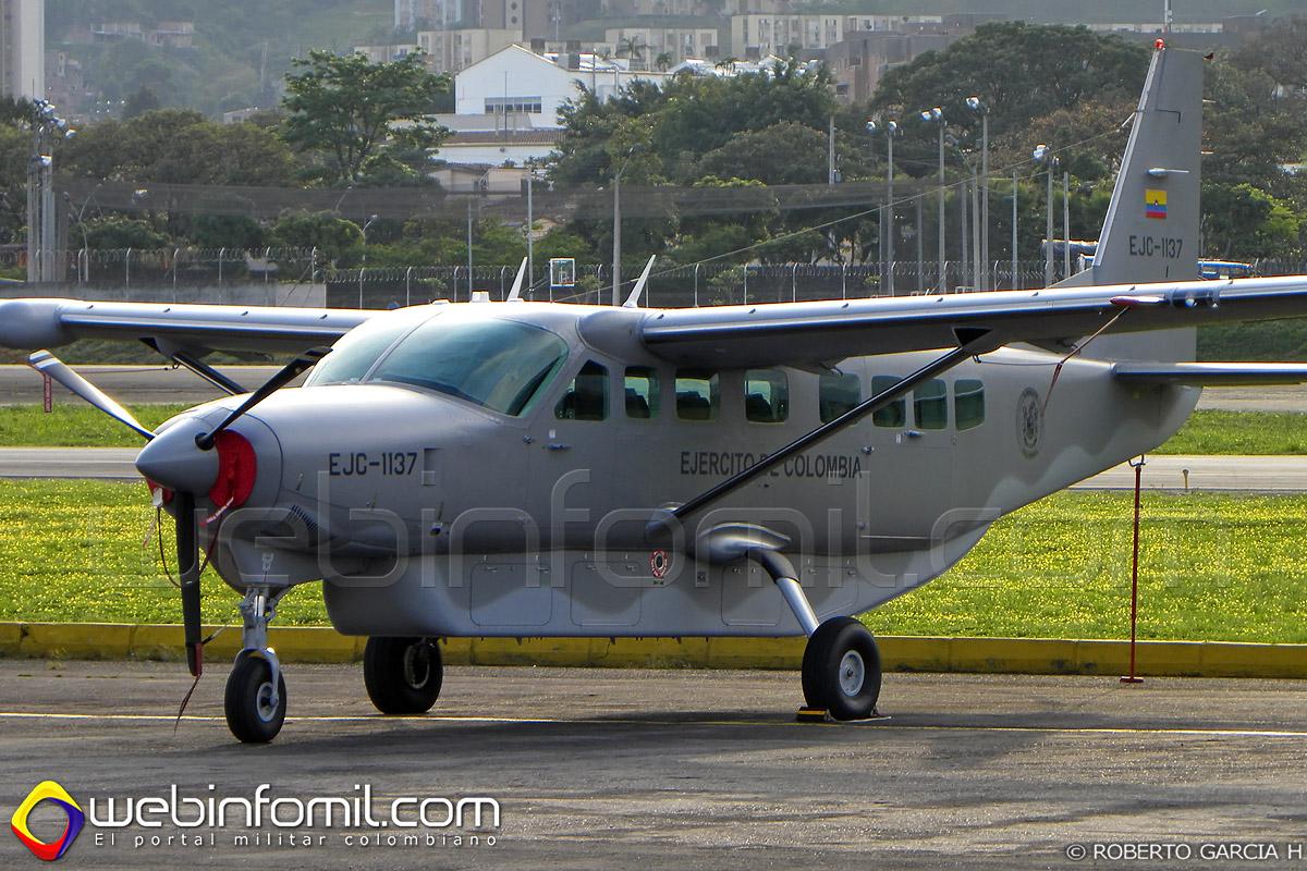 EJC-1137 Cessna Grand Caravan Ejercito Colombia