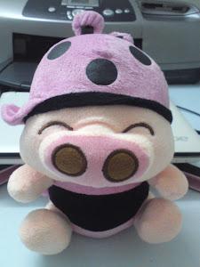 粉红飞天猪