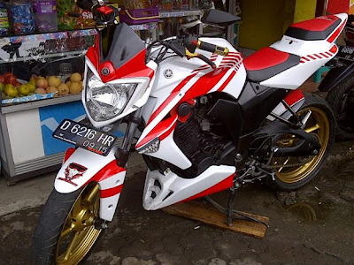 warna ala ducati byson modif byson putih lent modification byson modifikasi mesin yamaha byson modifikasi warna byson