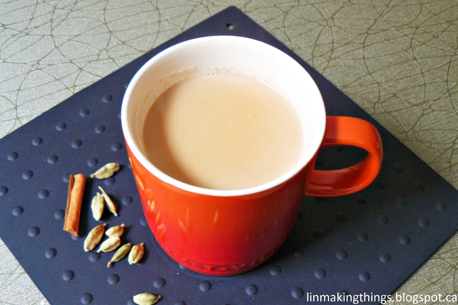tea, beverage, masala chai, Indian, recipe, linmakingthings