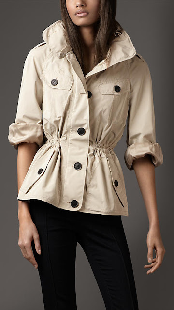 Katniss Style - Burberry parka - Hunger Games