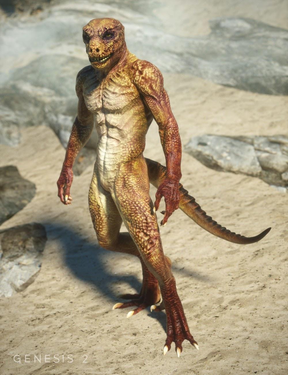 Textures pour reptilien 6 HD