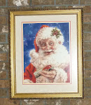 My Favourite Stitched Santa