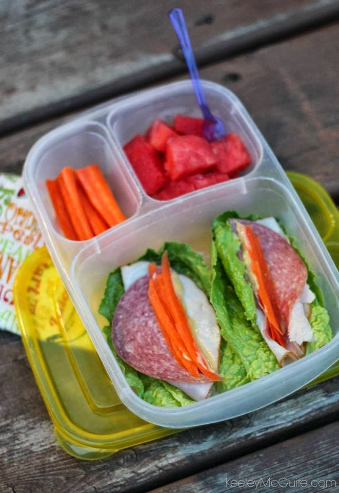 Gluten-Free Lunch Box Main Courses While most kids might have a PB&J or a grilled cheese sandwich on wheat toast, my repertoire features a few excellent gluten-free alternatives that my son has.