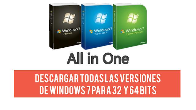 descargar iso windows 7 ultimate 32 bits