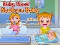 Baby Hazel y su hermanito recién nacido