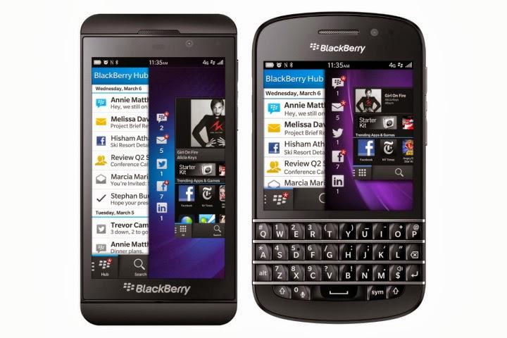 Harga Blackberry, Januari 2015