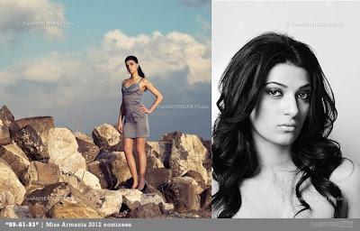 Miss Armenia Hayastan Միսս Հայաստան 2012 Ani Gazyan