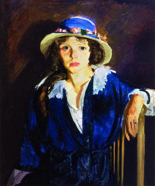 1914 Madeline Davis tempera