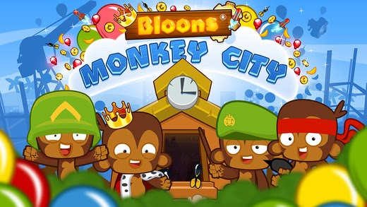 Bloons Monkey City Gameplay IOS / Android